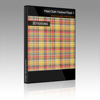 Plaid Cloth Texture Pack 1