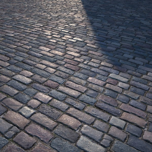 realistic road texture seamless. hq textures - cobbled road realistic texture seamless