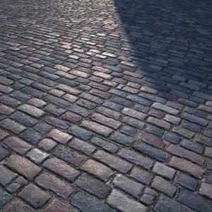 HQ Textures - Cobbled Road