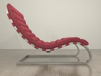Retro-Style Chaise / Chair