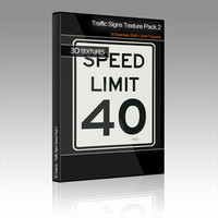 Traffic Signs Texture Pack 2