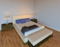 Cantoni Solitaire Queen Bed