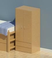 Adden Dorm Furnture-Wardrobe