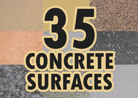 35 concrete surfaces