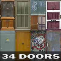 34 door textures