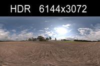 Road in field 4