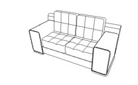 Sofa Love Seat  Series  One