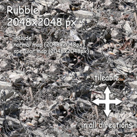 rubble (01) - debris