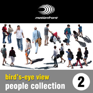 """Bird""""s - eye view people collection 2"""