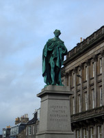 Scotland Statue