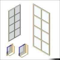 Door Leaf Steel Frame 01281se