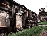 Scottish cemetery Calton Hill