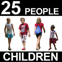 25 Children Textures - Vol. 2