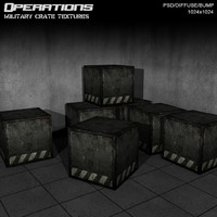 Military Crate Textures