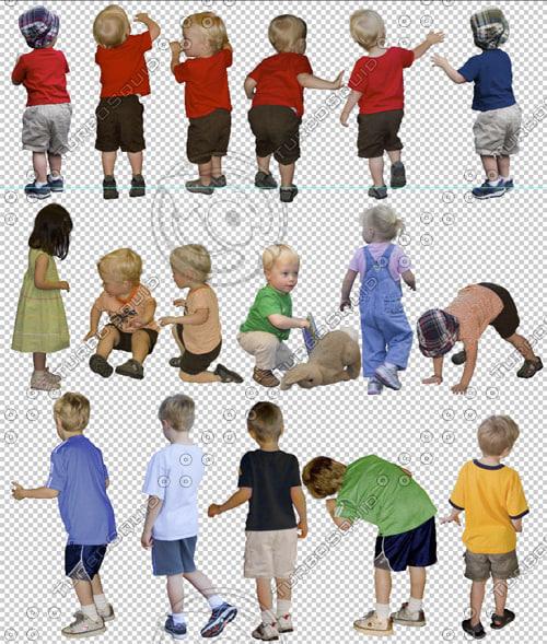 Texture psd small child children