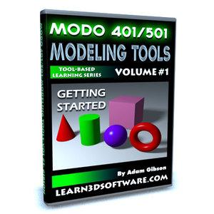 Modo 501 Modeling Tools Vol. #1