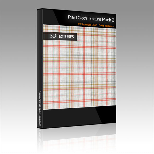 Plaid Cloth Texture Pack 2