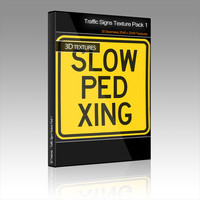 Traffic Signs Texture Pack 1