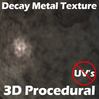 Decaying Metal Procedural Shader