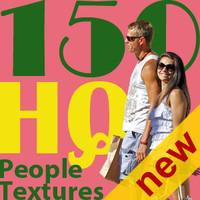 NEW 150 people textures vol.1