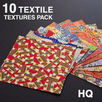 10 Textile Textures Pack