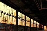 Abandonded train shed