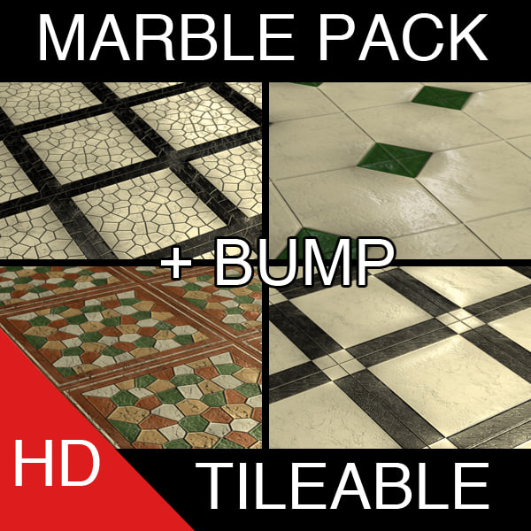 Marble Pack Tileable