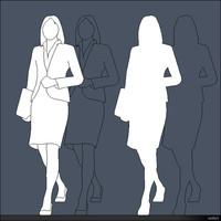 2D Person Woman 01288se