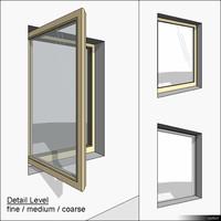 Window Casement Single 01290se