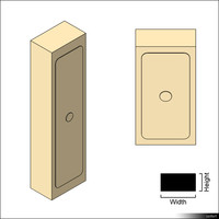 Duct Access Door 01375se