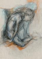 melancholic figure