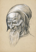 portrait of old man 1