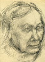 portrait of old woman 1