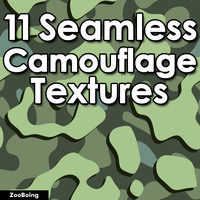 Set 025 - 11 Camouflage Textures