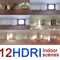 12 indoor scenes hdri image
