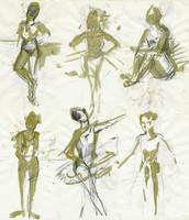 positions - dancers
