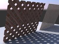 wood lattice v1
