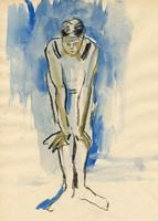 standing figure no.2