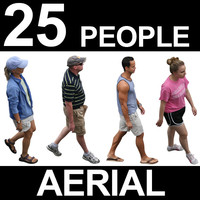Aerial People Textures - Volume 1