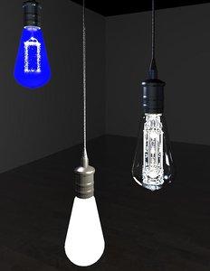 Edison Filament Bulb Light Fixture