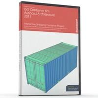 CONTENEDOR ISO 6m CAD
