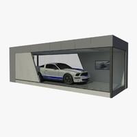Modular Showcase Building - Automotive