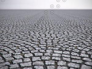 Fan Cobble Texture maps & .mat (Vray)