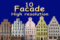 Building facade pack 10