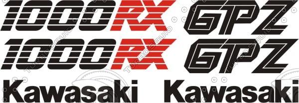 Kawasaki Gpz 1000 Rx 1987 Model