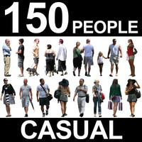 150 Casual People Textures - Bundle