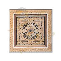 Square arabesque ornament