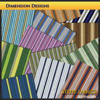 Stripe Fabrics Set 1