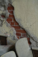 Crack in a wall