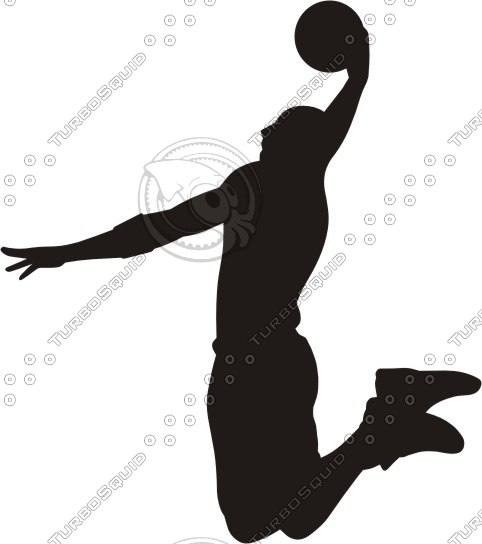 how to draw nba players dunking